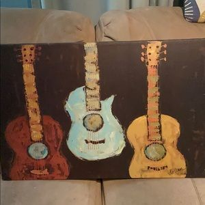 Decorative Guitar Picture